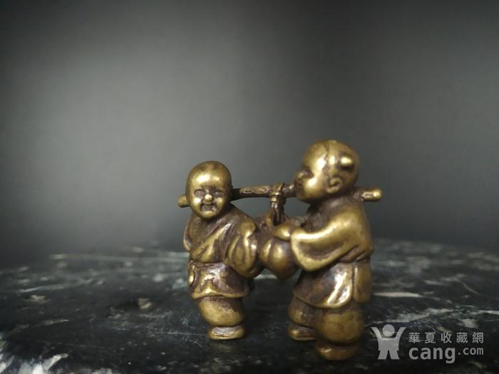 精品 收藏级 童子祝祷摆件图4