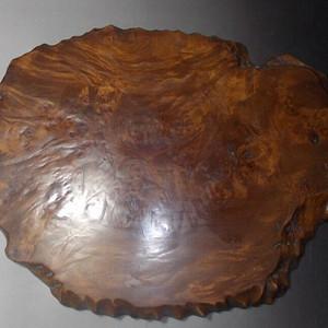老樱木独板茶盘