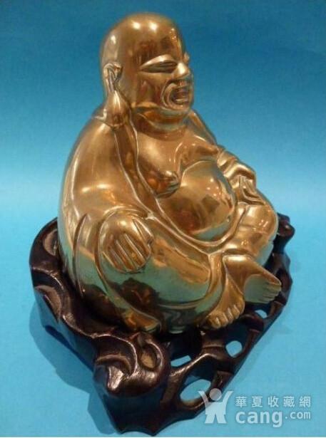 民国铜弥勒造像图3
