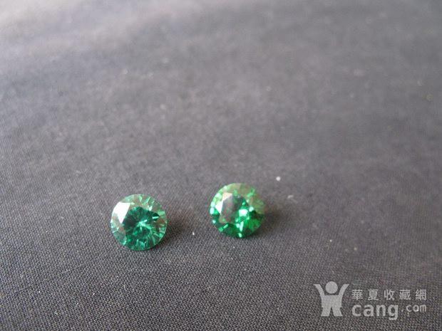 祖母绿 宝石钻戒 保真图2