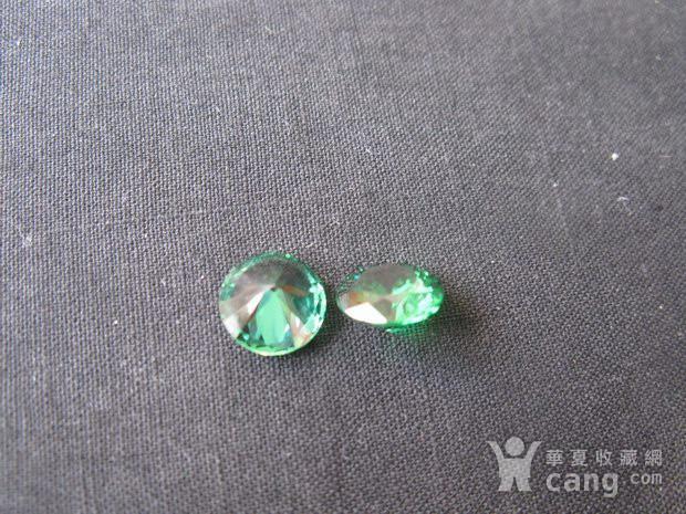 祖母绿 宝石钻戒 保真图3