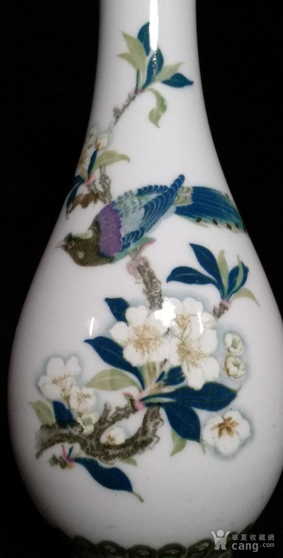 英国回流的创汇时期醴陵瓷瓶图2