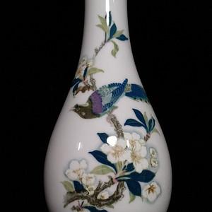 英国回流的创汇时期醴陵瓷瓶