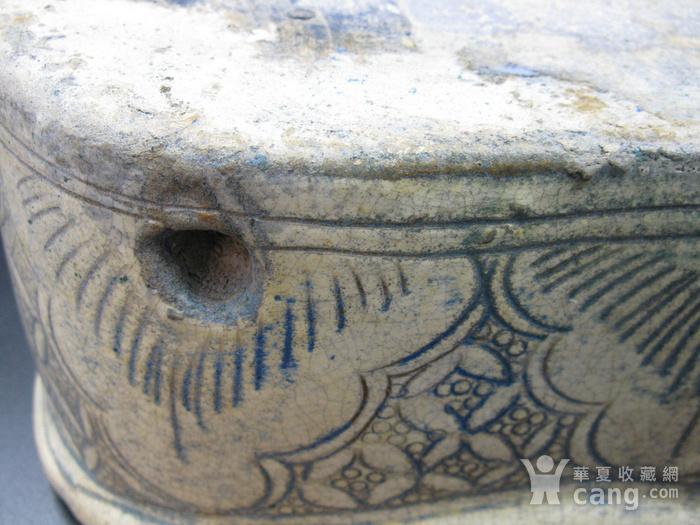 收藏级精品  磁州窑婴戏瓷枕图8