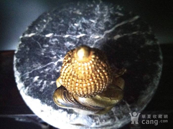 清代 鎏金释迦牟尼佛造像图7