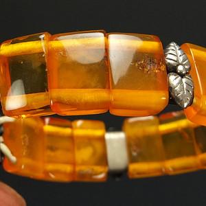 波罗的海老琥珀  手链