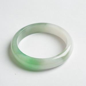 阳绿冰种正圈翡翠手镯 57mm  21L40 4