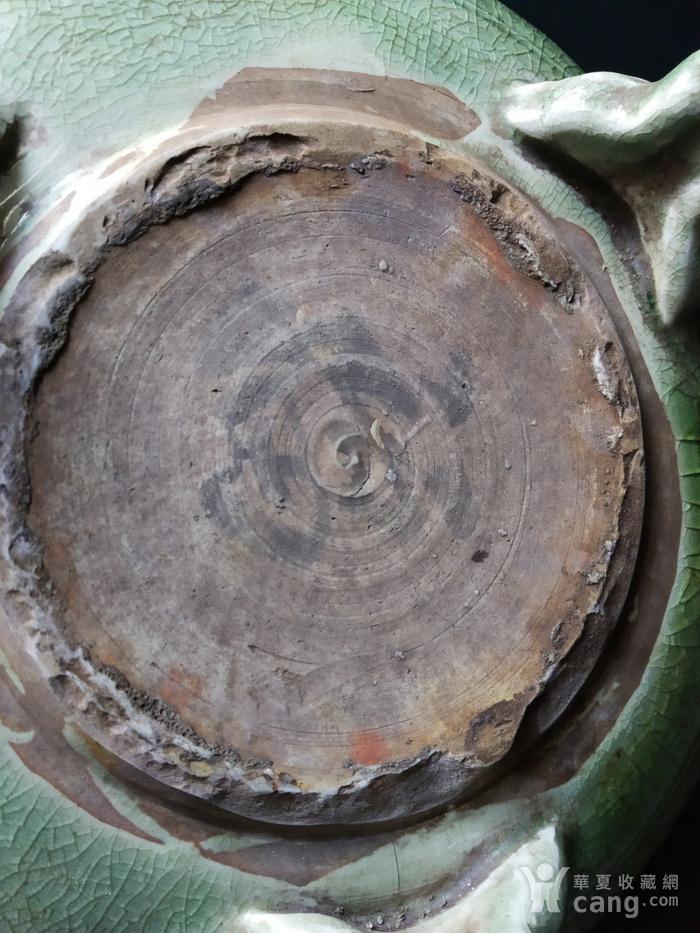 明代 龙泉暗刻纹 大香炉图9