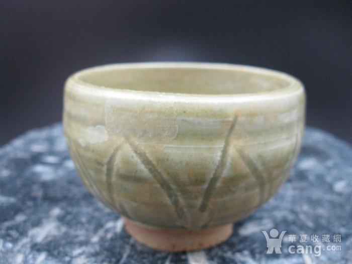 宋龙泉窑莲花杯图1