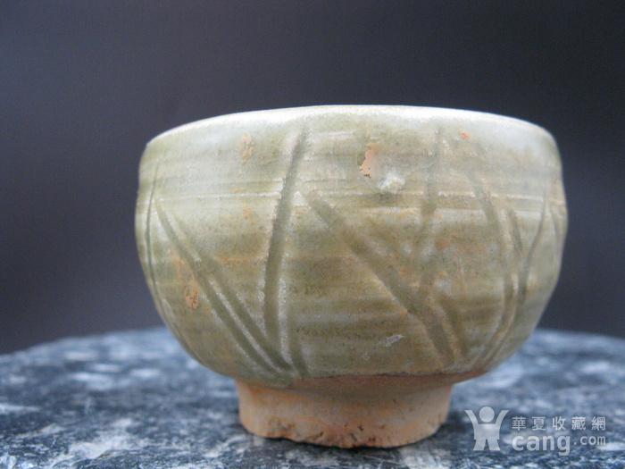 宋龙泉窑莲花杯图3