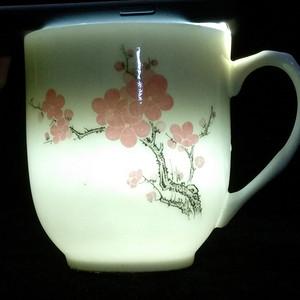 英国回流的湖南醴陵瓷杯