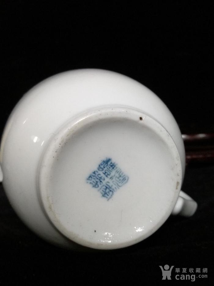 英国回流的湖南醴陵瓷杯图6