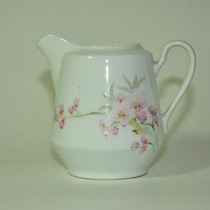 70 80年代水点桃花奶杯