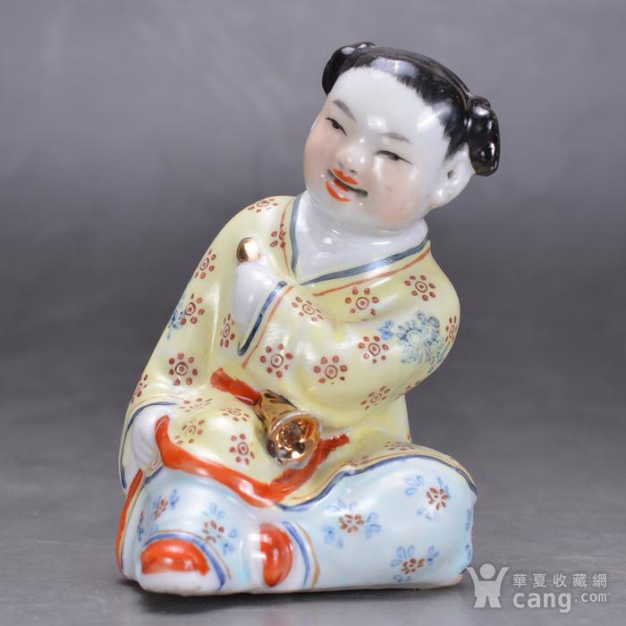 景德镇雕塑瓷厂 瓷人图1