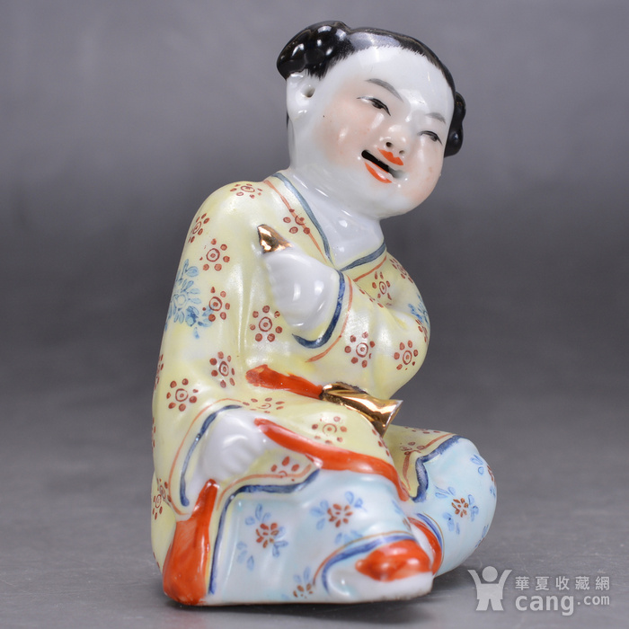 景德镇雕塑瓷厂 瓷人图3