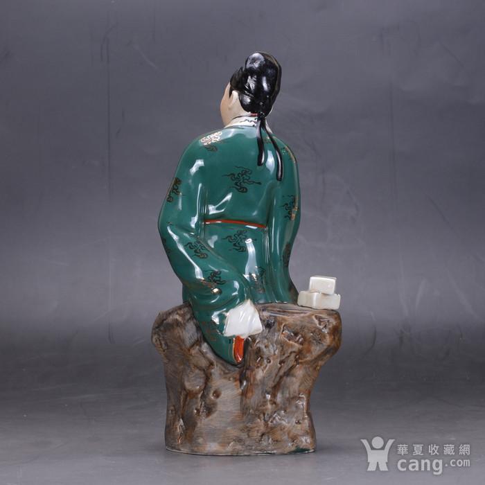 五六七 戏曲人物 瓷塑图4