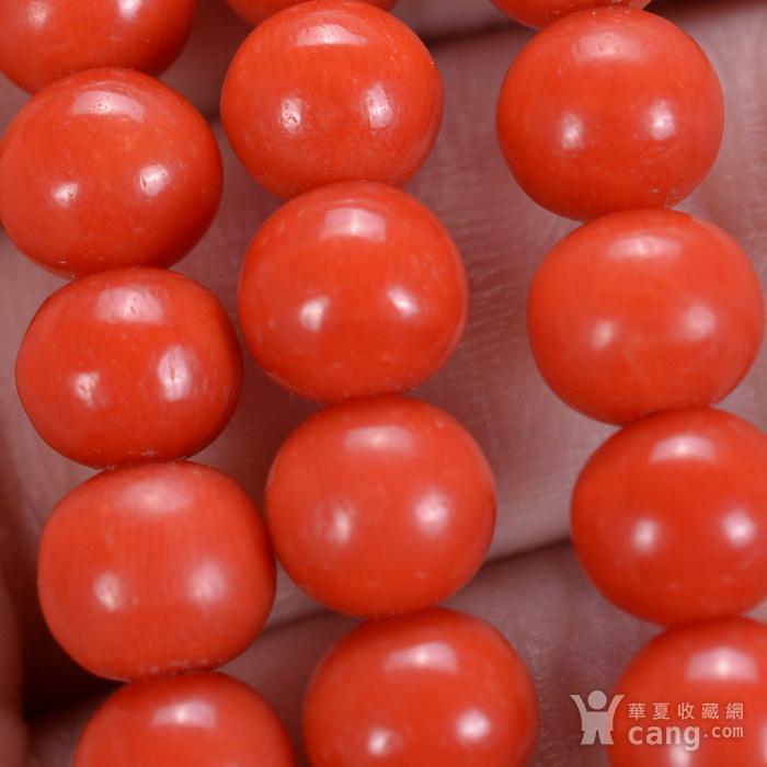 14k金 天然红珊瑚手链图8