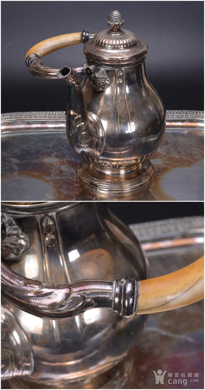 欧洲 老式 银茶具一套图4