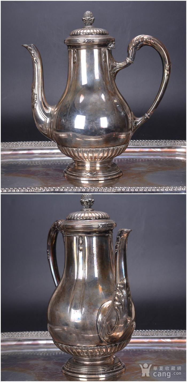 欧洲 老式 银茶具一套图5