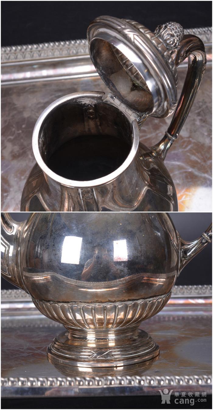欧洲 老式 银茶具一套图6