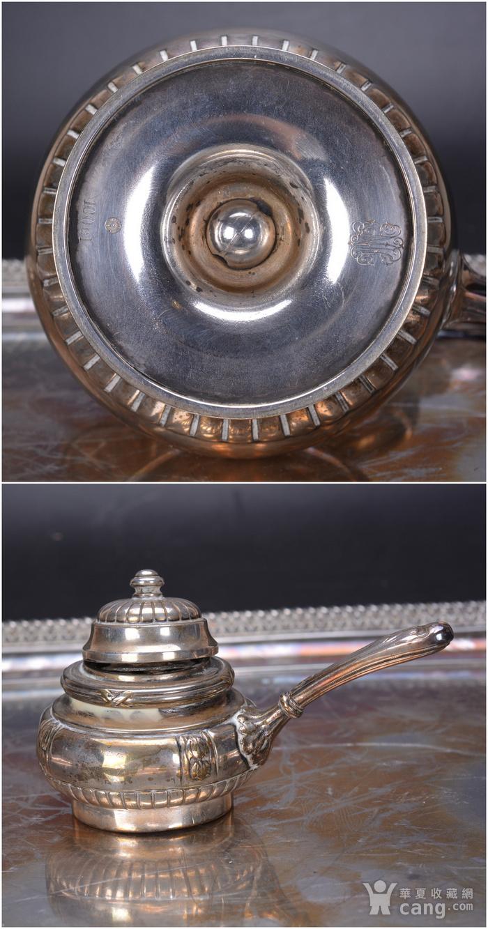 欧洲 老式 银茶具一套图9