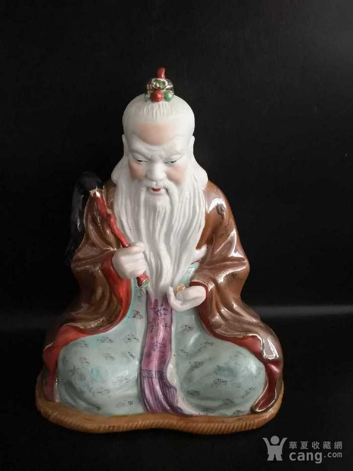 英国回流的中国瓷器道家人物图9