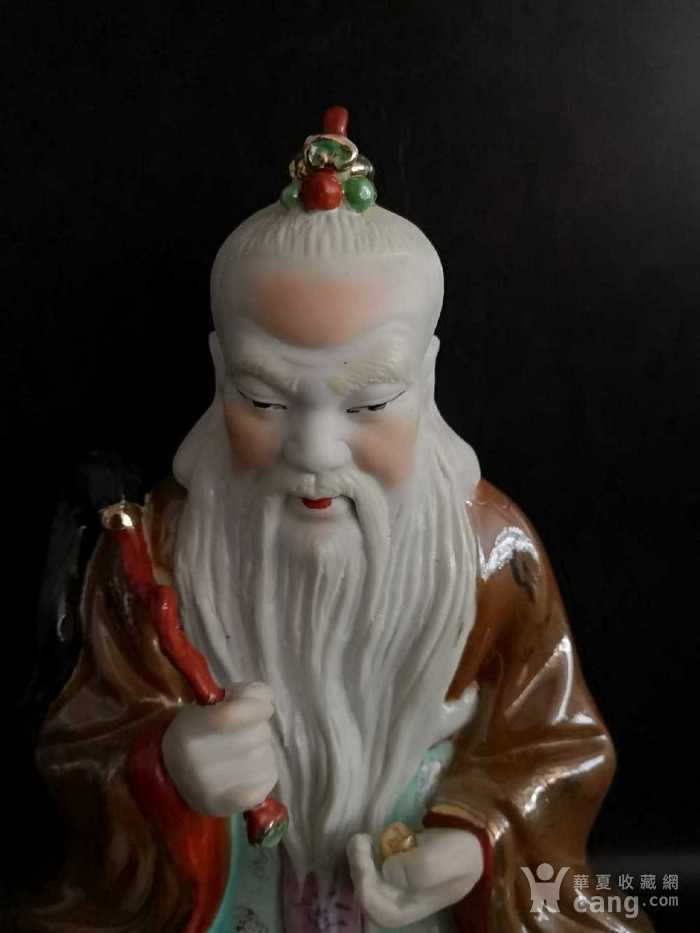 英国回流的中国瓷器道家人物图2