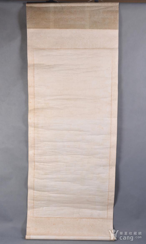 清代 道教人物 水陆画 立轴图10