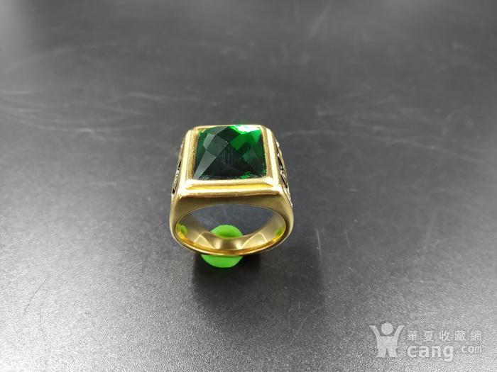 绿宝k金指环图3