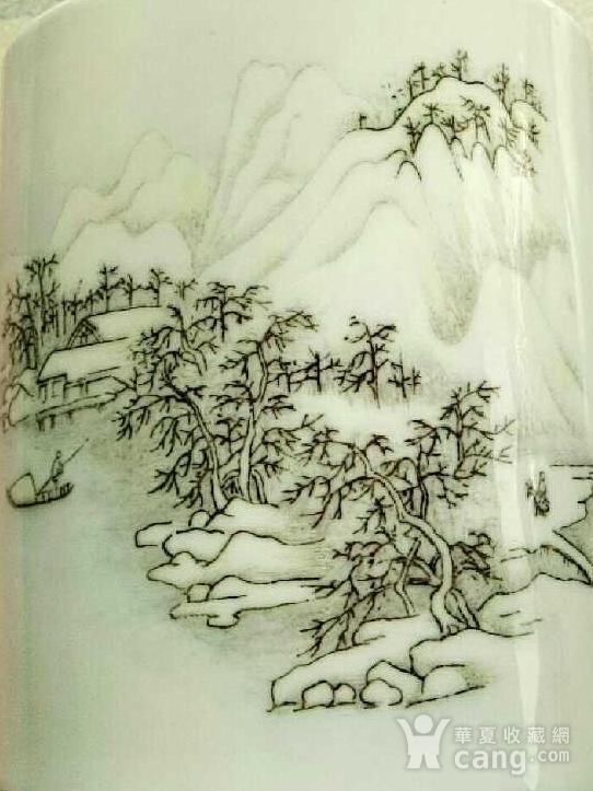 回流之中国醴陵瓷 笔筒图1