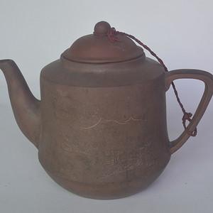 创汇时期老紫砂壶