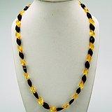 金牌 天然 琥珀项链v11 1