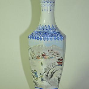 70 80年代薄胎雪景瓶