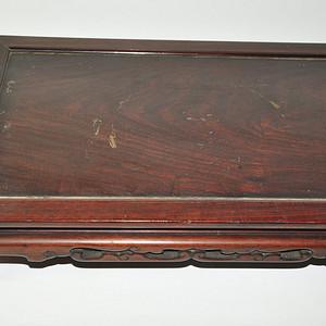 大几十年的红木小桌
