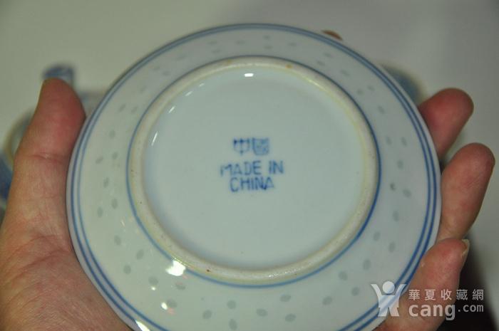 80年代玲珑瓷茶具一套图12