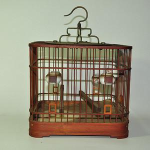 几十年鸟笼一个