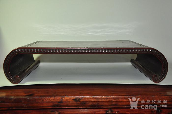 日本老漆器小桌一个图2