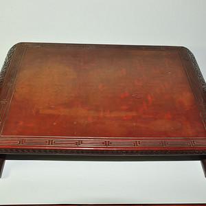 日本老漆器小桌一个