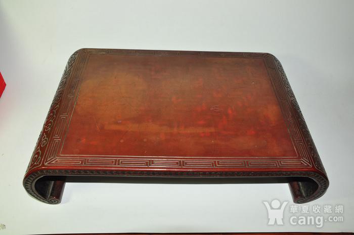 日本老漆器小桌一个图1