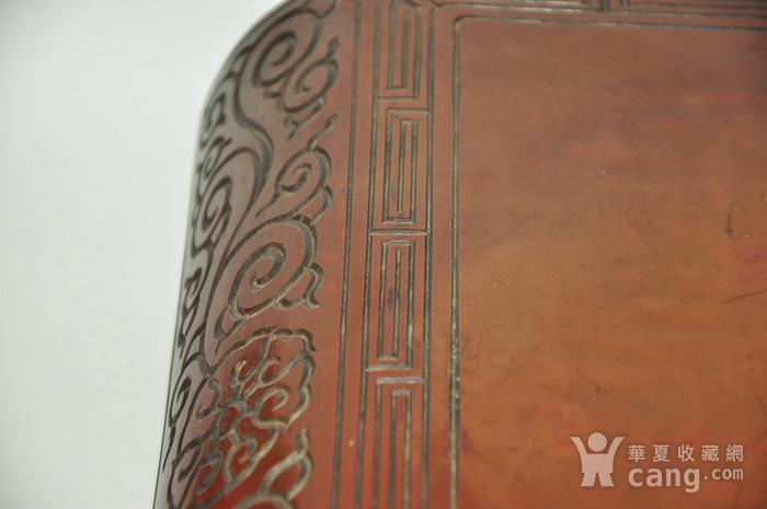 日本老漆器小桌一个图3