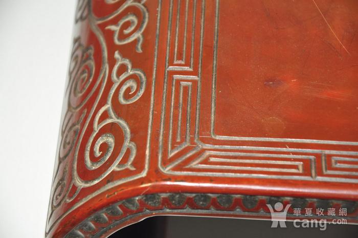 日本老漆器小桌一个图4