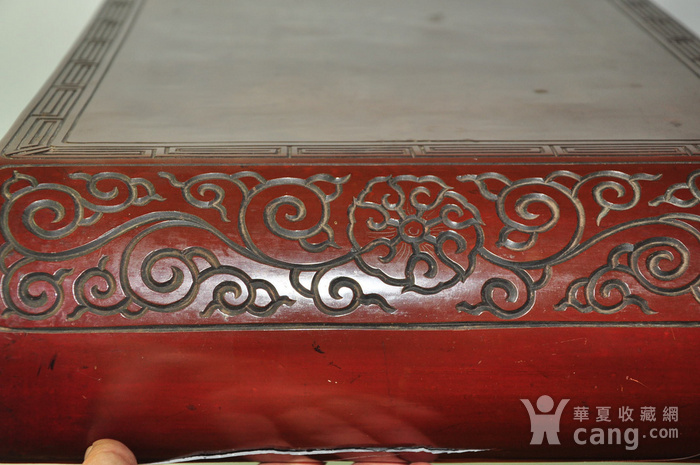 日本老漆器小桌一个图5