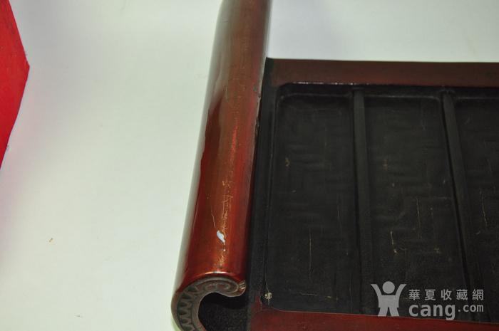 日本老漆器小桌一个图7