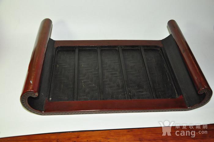 日本老漆器小桌一个图8