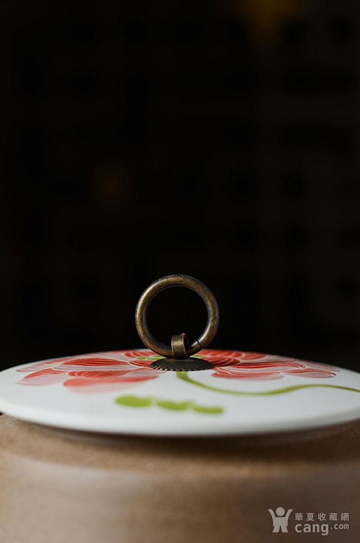 纯手工 中式储茶罐醒茶罐图4