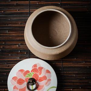 纯手工 中式储茶罐醒茶罐