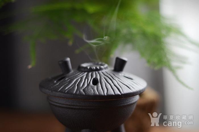 陶瓷佛具摆件 三足香炉图3