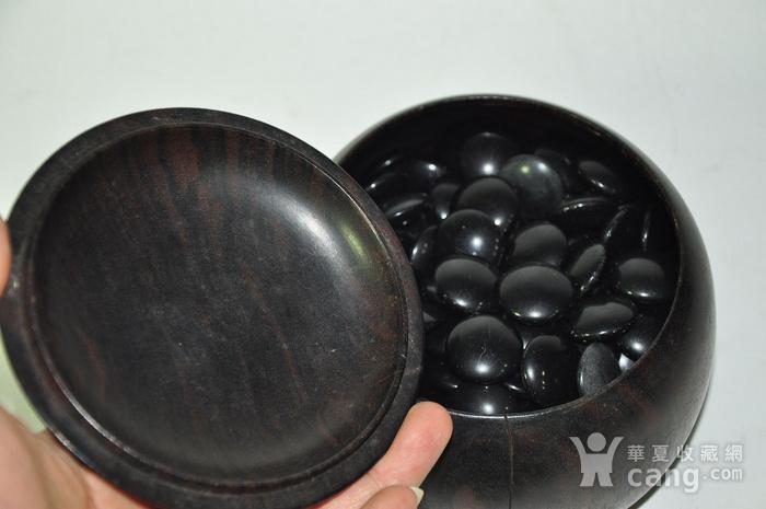 日本产硬木围棋罐一个图4