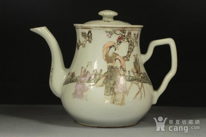 民国江西瓷业公司粉彩大茶壶图2
