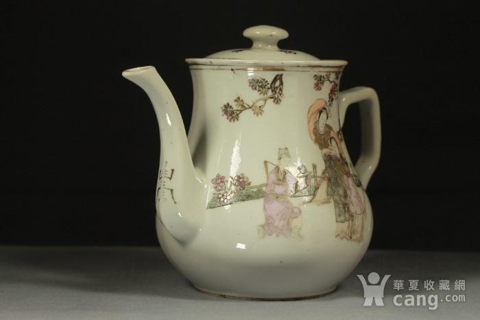 民国江西瓷业公司粉彩大茶壶图3